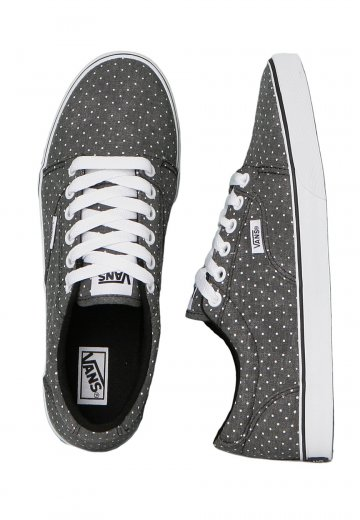 80dc21bf857946 Vans - Kress Washed Dots Black White - Girl Shoes - Impericon.com UK