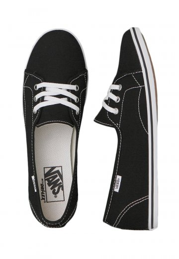 a0dcbfcd8ae Vans - Leah Black True White - Girl Shoes - Impericon.com Worldwide