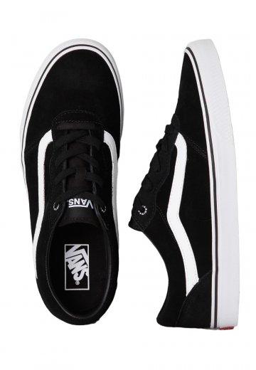 Vans - Milton Suede Black/White - Shoes