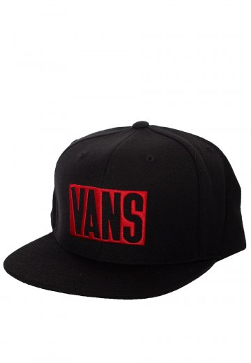 Vans New Stax Black Cap