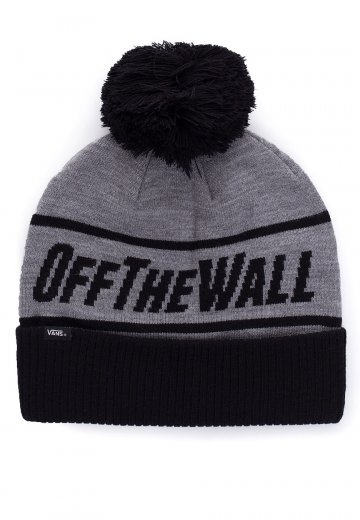 867a90e72a8 Vans - OFF THE WALL Heather Grey - Beanie - Impericon.com US