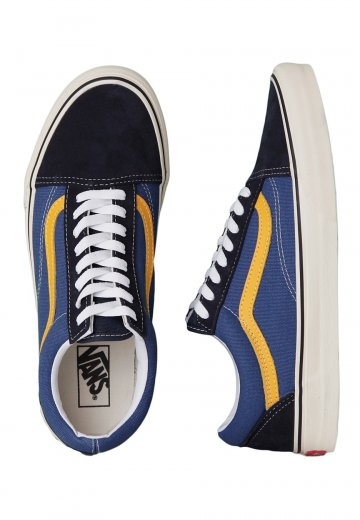 Vans - Old Skool 2 Tone Navy Citrus - Shoes - Impericon.com Worldwide 396395013