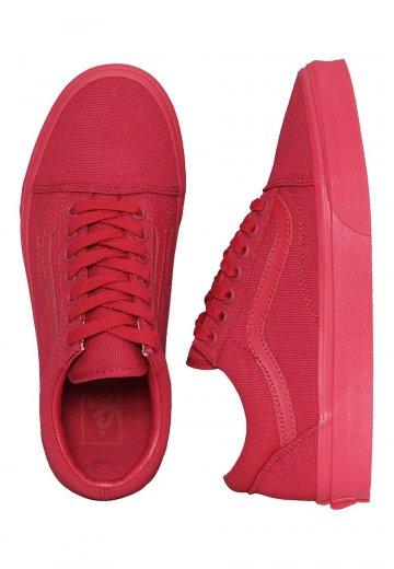 c56ca21cbf0e Vans - Old Skool Crimson - Girl Shoes - Impericon.com UK