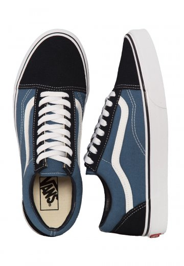 Vans - Old Skool Suede Canvas Navy - Shoes - Impericon.com Worldwide cea304def