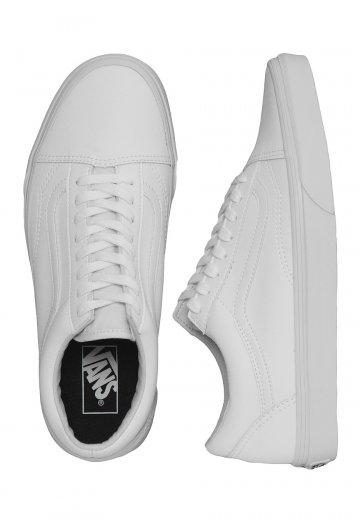Vans - Old Skool Classic Tumble True White - Shoes - Impericon.com Worldwide 5e838b87d