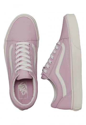 7a2232cc1a Vans - Old Skool Winsome Orchid Blanc De Blanc - Girl Shoes - Impericon.com  US