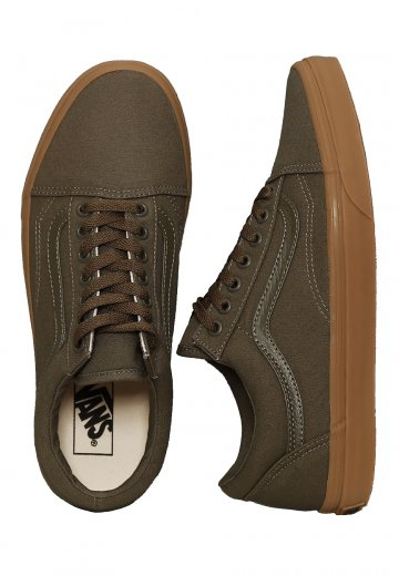 ad00e07bed3 Vans - Old Skool Canvas Gum Ivy Green Light Gum - Shoes - Impericon.com  Worldwide
