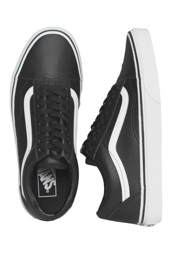 Vans - Old Skool Classic Tumble Black/True White - Shoes