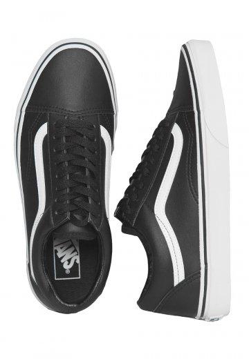 Vans Old Skool Classic Tumble BlackTrue White Girl Shoes