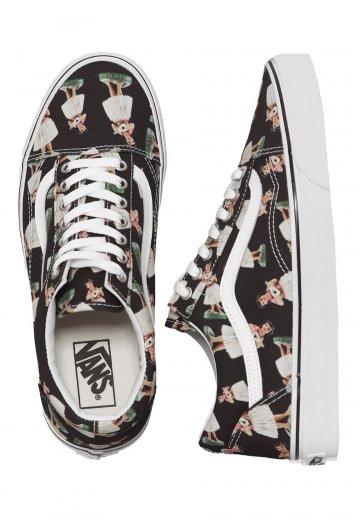37c30317940f Vans - Old Skool Digi Hula Black True White - Shoes - Impericon.com US