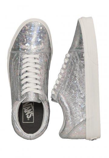 e824a54c9d043b Vans - Old Skool Hologram Silver Blanc De Blanc - Girl Shoes -  Impericon.com UK