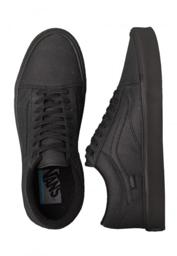 284237c59b374f Vans - Old Skool Lite Black Waxed Canvas - Girl Shoes - Impericon.com  Worldwide