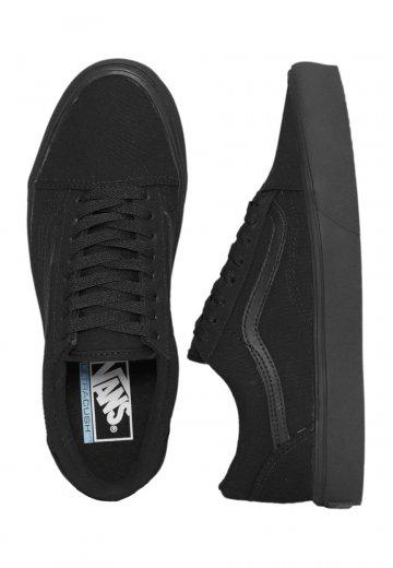 Vans - Old Skool Lite Canvas Black/Black - Shoes