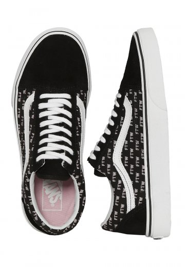 Vans - Old Skool Sayings - Girl Shoes - Impericon.com Worldwide 4717e4bb8