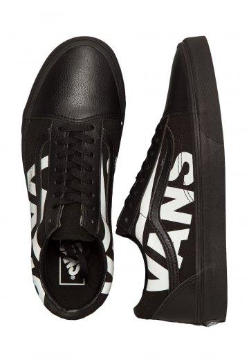 Vans - Old Skool Vans Black True White - Shoes - Impericon.com Worldwide c18c1838370e