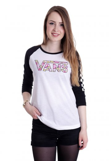 18a20b6036 Vans X Nintendo - Princess Peach White Black - Longsleeve - Impericon.com  Worldwide