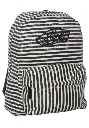 ef236434e5 Vans - Realm Stripes Black - Backpack - Impericon.com UK