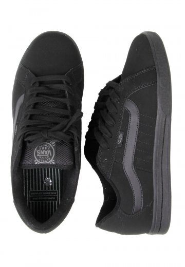 a9327195d6 Vans - Rowley Stripes Synthetic Black Black - Shoes - Impericon.com  Worldwide