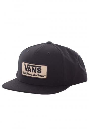 Vans - Rowley Vans Black - Cap - Impericon.com UK b1cb102ecd0