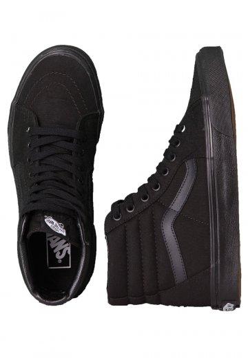 Vans Sk8 Hi BlackBlackBlack Shoes