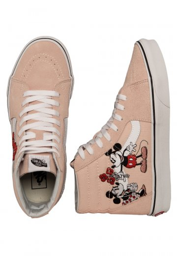 sports shoes dbb21 e1f1d Vans x Disney - Sk8-Hi Disney Mickey Mouse - Shoes