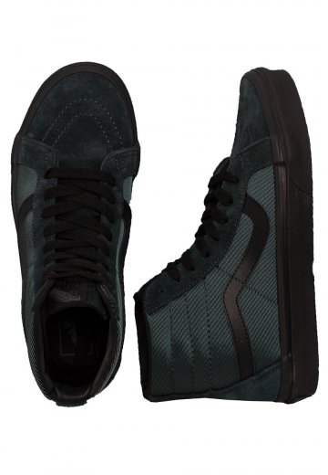8a77c7df79 Vans - Sk8-Hi Reissue Metallic Twill - Girl Shoes - Impericon.com US