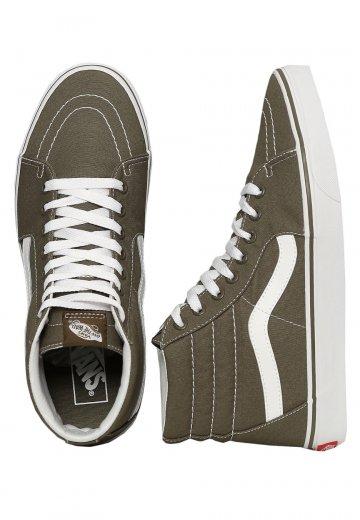 Vans - Sk8-Hi Canvas Grape Leaf - Shoes - Impericon.com Worldwide 762164100