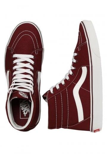 fa0131a29d Vans - Sk8-Hi Canvas Port Royale - Shoes - Impericon.com UK
