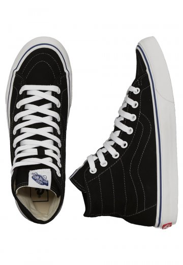 34f442d5870d41 Vans - Sk8-Hi Decon Canvas Black True White - Girl Shoes - Impericon.com  Worldwide