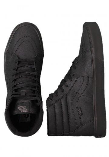 75c3ac8019d7 Vans - Sk8-Hi Lite Black Waxed Canvas - Shoes - Impericon.com US