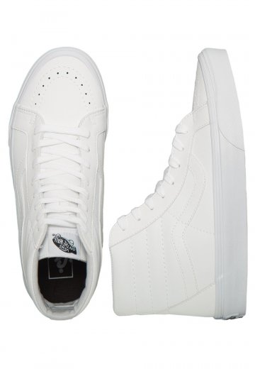 Vans - SK8‐Hi Reissue Classic Tumble True White - Shoes
