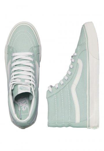 d9230ce03c Vans - Sk8-Hi Slim Gossamer Green Blanc De Blanc - Girl Shoes -  Impericon.com UK
