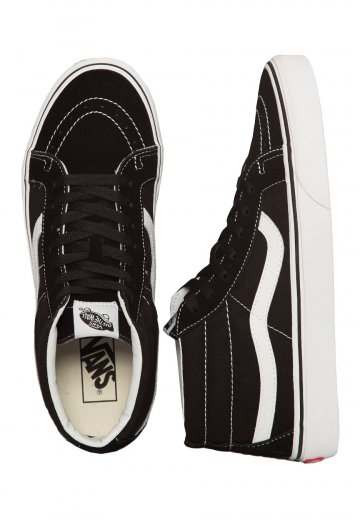 158f66edd5 Vans - Sk8-Mid Reissue Black True White - Shoes - Impericon.com UK