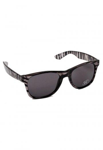 58015337ca Vans - Spicoli 4 Shades Clear Zebra - Sunglasses - Impericon.com US