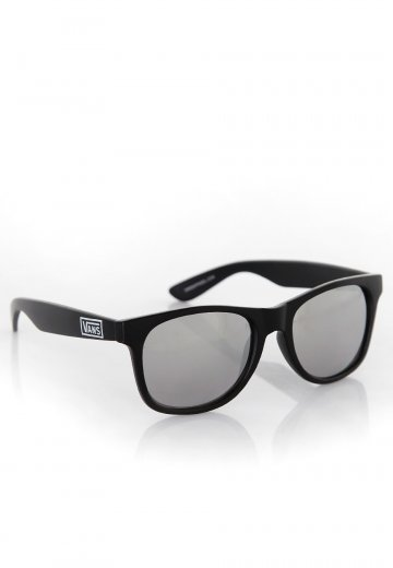 Vans Spicoli 4 Shades Matte BlackSilver Mirror Sunglasses