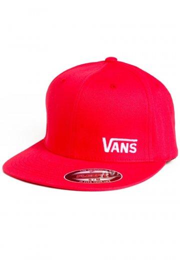 Vans - Splitz Brand Red - Cap - Impericon.com UK c348f57f5ab