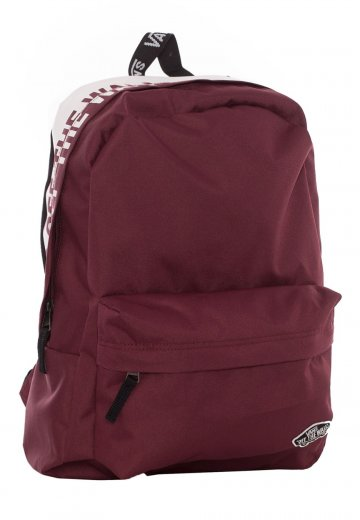 3c350a9e16d Vans - Sporty Realm Burgundy - Backpack - Impericon.com UK