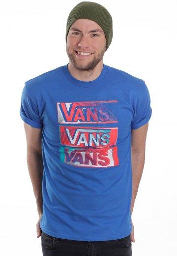 4e98af766a7a56 Vans - Tall Boy Royal Blue - T-Shirt - Impericon.com AU