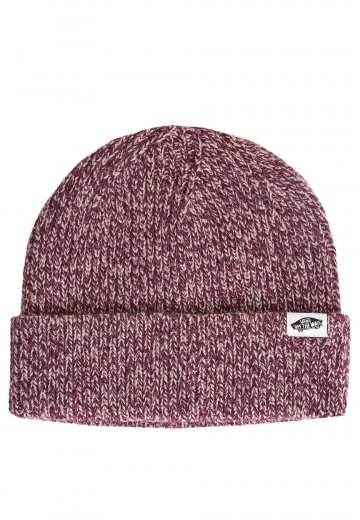 Vans - Twilly Burgundy Mahogany Rose - Beanie - Impericon.com US 227e1eee11ab