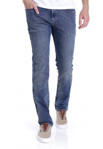 999e6b7c05b112 Vans - V16 Slim Vintage Indigo Medium - Jeans - Impericon.com UK