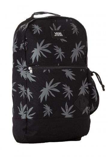 1f9297a913c Vans - Van Doren II Black Palm Print - Backpack - Impericon.com US