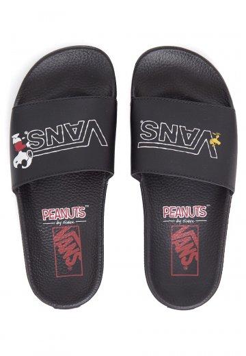 Vans X Peanuts - Slide-On Peanuts - Sandals - Impericon.com Worldwide b70a4238c