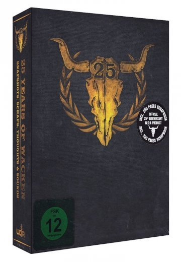Various Artists - 25 Years Of Wacken: Snapshots, Sraps, Thoughts & Sounds - 3 Blu Ray