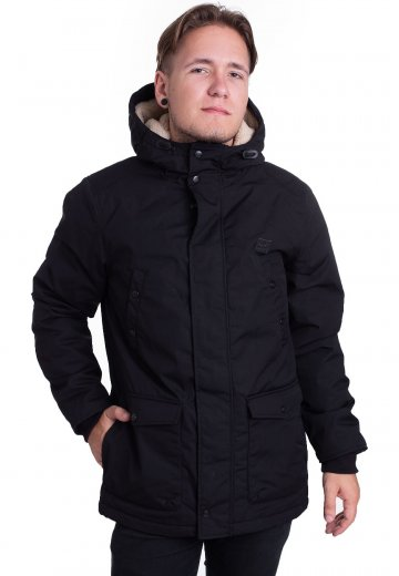 bf05bd6de4ba Vintage Industries - Skinner Black - Jacket - Streetwear Shop -  Impericon.com US