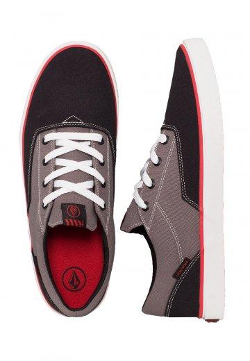 Volcom Grey Lo Shoes Draw Black nP0wX8Ok