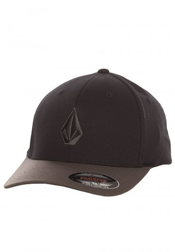 Volcom - Full Stone XFIT Black Grey - Čepice - Streetwear obchod ... 097e403504