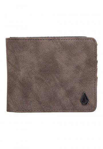 Volcom - Slim Stone PU Large Pewter - Wallet