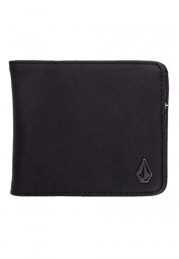 Volcom - Slim Stone PU Large New Black - Wallet