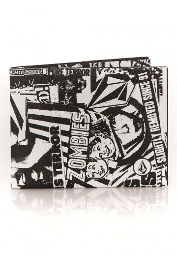 Volcom - Spinner Paper Black - Wallet