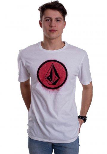 Volcom - Spray Stone LTW White - T-Shirt